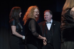 Sen. Jeff Mullis Honors The Forester Sisters at Georgia Music Hall of Fame Awards Concert